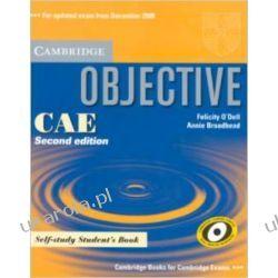 Objective CAE Self-study Student's Book Książki do nauki języka obcego
