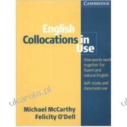 English Collocations in Use Książki do nauki języka obcego