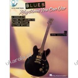 Blues Rhythms You Can Use: A Complete Guide to Learning Blues Rhythm Guitar Styles [With CD (Audio)] Albumy i czasopisma
