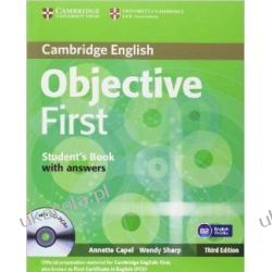 Objective First Student's Book with Answers with CD-ROM Kalendarze ścienne