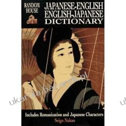Random House Japanese-English, English-Japanese Dictionary Seigo Nakao Książki