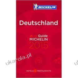 Niemcy Przewodnik Michelin Guide Deutschland 2015 Mapy, przewodniki, książki podróżnicze