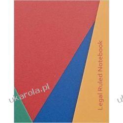 Legal Ruled Notebook - Notable Notebooks  Pozostałe