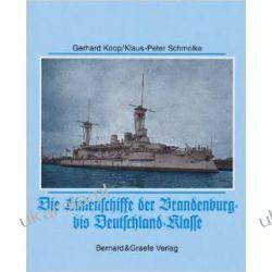 Die Linienschiffe der Brandenburg- bis Deutschland-Klasse Kalendarze ścienne