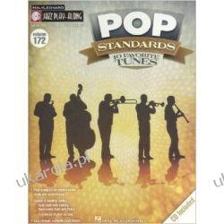 Jazz Play-Along Volume 172: Pop Standards - 10 Favorite Tunes Muzyka, taniec, śpiew