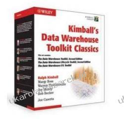 Kimball's Data Warehouse Toolkit Classics Box: The Data Warehouse Toolkit + the Data Warehouse Lifecycle Toolkit + the Data Warehouse Etl Toolkit Ralph Kimball Margy Ross Bob Becker Kalendarze ścienne