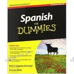 Spanish For Dummies (European Spanish) Hiszpański Książki do nauki języka obcego