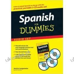 Spanish For Dummies Audio Set Hiszpański Książki do nauki języka obcego