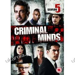 Zabójcze umysły Criminal Minds - Season 5 [DVD] Filmy