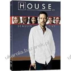Dr House Sezon 5 DVD Kalendarze książkowe