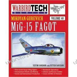 MiG-15 Facot: 40 Warbird Tech Yefim Gordon Kalendarze ścienne