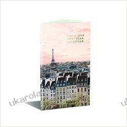 Kalendarz książkowy Notes Paryż A Parisian Life 2017-2018 Two-Year Calendar