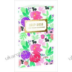 Kalendarz książkowy Happy Floral 2017-2018 Planner Notes