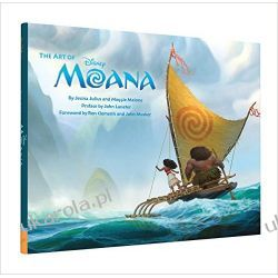 The Art of Moana VAIANA Skarb Oceanu Kalendarze ścienne