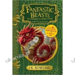 Fantastyczne zwierzęta i jak je znaleźć Fantastic Beasts and Where to Find Them: Hogwarts Library Book Fantasy