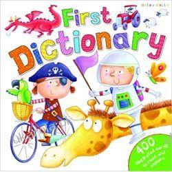 First English Dictionary angielski słownik obrazkowy dla dzieci Książki do nauki języka obcego