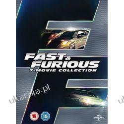 Fast & Furious 1-7 [DVD] [2015] Szybcy i Wściekli Filmy