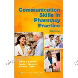 Communication Skills in Pharmacy Practice: A Practical Guide for Students and Practitioners Samochody