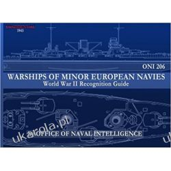 ONI 206 Warships of Minor European Navies: WWII Recognition Guide Kalendarze ścienne