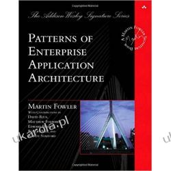 Patterns of Enterprise Application Architecture Pozostałe
