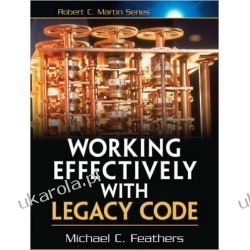 Working Effectively with Legacy Code Informatyka, internet