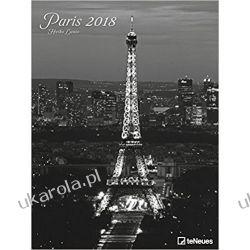 Kalendarz 2018 Paris Poster Calendar Paryż