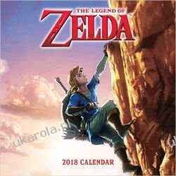 Kalendarz The Legend of Zelda 2018 Wall Calendar