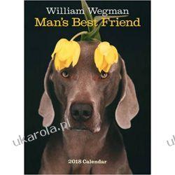 Kalendarz Psy William Wegman Man's Best Friend 2018 Wall Calendar