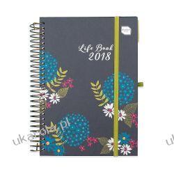 Kalendarz książkowy Academic Diary 2017-2018 Calendar
