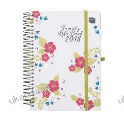Kalendarz książkowy Family Life Book Academic Diary 2017-2018 Calendar