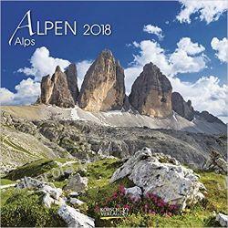 Kalendarz Alpy Alpen 2018 Alps Calendar Góry