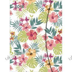 Kalendarz książkowy Notes 2018 Flowers Diary - teNeues Large Magneto Diary - Illustrations - 16 x 22 cm Kwiaty