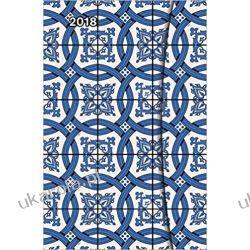 Kalendarz książkowy 2018 Azulejos Diary Magneto Diary Calendar 10x15cm