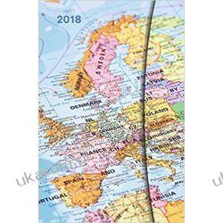 Kalendarz książkowy Mapy 2018 World Maps Magneto Diary Calendar