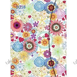 Kalendarz 2018 Flower Fantasy Large Magneto Diary 16 x 22 cm calendar Kwiaty