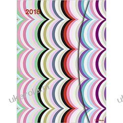 Kalendarz książkowy 2018 Kapitza Large Magneto Diary 16 x 22 cm Calendar Pozostałe