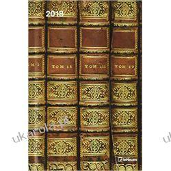 Kalendarz książkowy 2018 Antique Books Magneto diary calendar