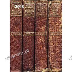 Kalendarz książkowy Antyczne książki 2018 Antique Books Large Magneto Diary 16 x 22 cm Calendar