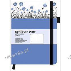 Kalendarz książkowy 2018 Cornflowers SoftTouch Diary Calendar Kwiaty