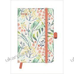 Kalendarz książkowy 2018 - Floral Diary Calendar 10x15