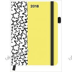 Kalendarz książkowy Gwiazdy 2018 Stars SoftTouch Diary Calendar