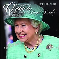 Kalendarz Her Majesty the Queen and the Royal Family Wall Calendar 2018