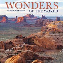 Kalendarz Wonders of the World 2018 Wall Calendar