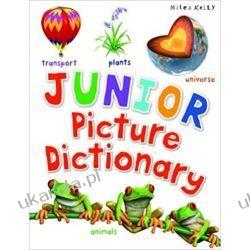 Słownik Obrazkowy Junior Picture Dictionary Książki do nauki języka obcego
