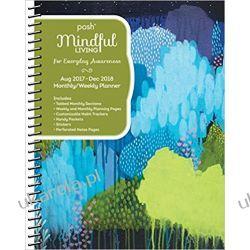 Kalendarz książkowy Posh: Mindful Living 2017-2018 Diary Calendar