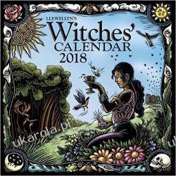 Kalendarz Llewellyn's 2018 Witches' Calendar Kalendarze książkowe