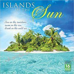 Kalendarz Wyspy Islands in the Sun 2018 Calendar