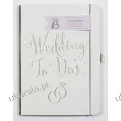 Busy B Bride to B A5 Wedding To Do Planner Book - White Organizer Ślubny Pozostałe