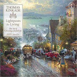 Kalendarz Official Thomas Kinkade Lightposts for Living 2018 Wall Calendar Kalendarze ścienne