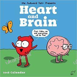 Kalendarz Serce i Rozum Heart and Brain 2018 Wall Calendar Pozostałe